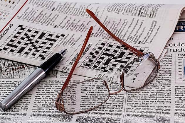 crossword clue to a younger brain