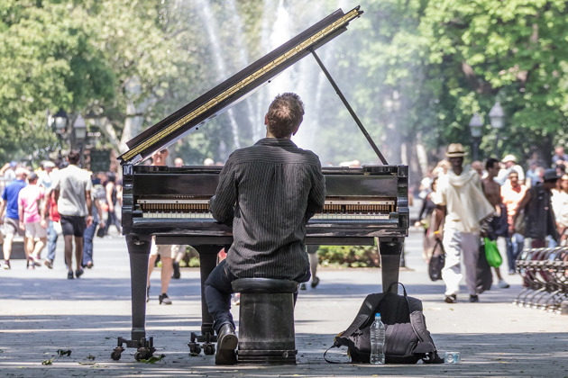 music beats the blues - play away depression