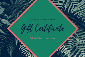 matching session gift voucher