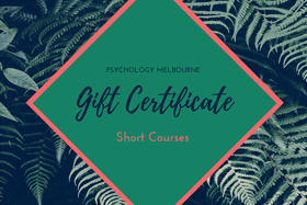 short course gift voucher